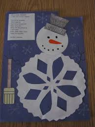 *Lil Country Kindergarten*: Winter Ideas - Part 1 Snowman and Poem