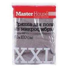 <b>Тряпка для пола</b> MASTER HOUSE XXL, микрофибра, 80*100см ...