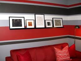 Stripe painted walls Painting Multicolored 0126452halfdaydesignspaintstripess4x3 Hgtvcom 100 Halfday Designs Painted Wall Stripes Hgtv
