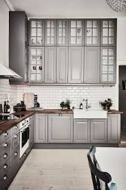 Interior Decoration Of Kitchen 17 Best Ideas About Gray Kitchens On Pinterest Grey Cabinets