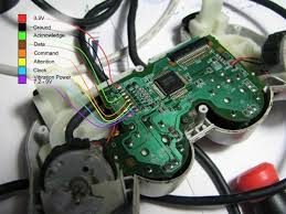 ps2 controllers on arduinos ps2 connections of a similar model