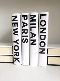 Designer Books Decor Decorative Books Fashion Books Fashion Design New York London 54