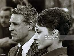circa 1963, Actress Audrey Hepburn with ...