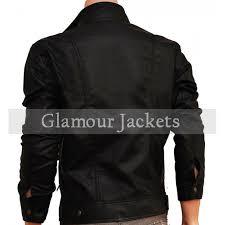 classic rider new men s double zipper motorcycle jacket