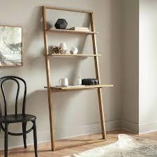 ladder desk with shelves leaning desk ladder desk and shelves uk ladder desk