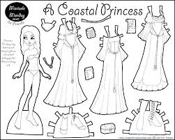 Girl Paper Doll Coloring Pages Luxury Doll Coloring Pages Paper Doll