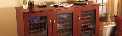 Wine U0026 Bar Cabinets Wine Cooler Cabinet Furniture R76
