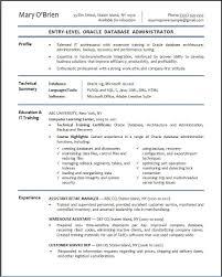 Administrator Resume Sample Dba Resumes Compatible Photos Or 01
