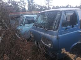 1964 and 1967 Ford Econoline E-100 Pickup Trucks- Package Deal ...