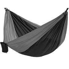 camping hammock lightweight nylon portable double for backpacking camping travel beach yard