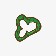 sliced green pepper clipart. Green Pepper Slice Vector PNG And Intended Sliced Clipart