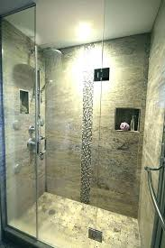 small standing shower ideas wall stand up excellent design designs