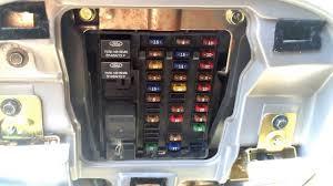 ford f 150 1997 2003 fuse box location youtube 2003 ford expedition eddie bauer fuse box diagram at 2003 Ford Expedition Fuse Relay Box Location