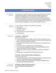 Information Technology Consultant Sample Resume New Information