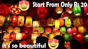 Bhagirath Palace Diwali Lights Bhagirath Palace Cheapest Wholesale Market Of Diwali Light In Chandni Chowk Vlog 21th