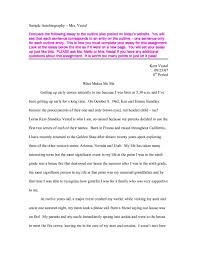 biographical narrative essay example art first person essay  cover letter examples of autobiography narrative essays examples for collegeexamples of autobiographical essays large size