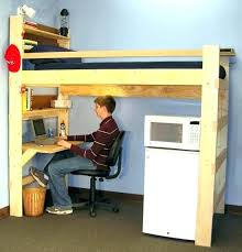 bunk bed office underneath. Charming Twin Size Loft Bed With Desk Bunk Office Beds . Underneath