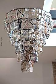 chandeliers recycled glass chandelier recycled glass chandelier recycled glass chandelier diy