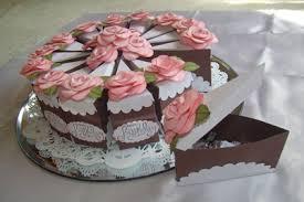 DIY Cake Gift Box template