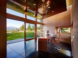 build home office. Carney Logan Burke Uses Rammed Earth To Build Home-office Extension Home Office F