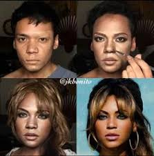 the power of make up celebrity transformations beyonce jkbonito