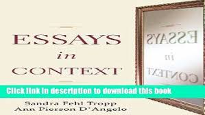 Patterns For College Writing Pdf Magnificent Essays In Patterns For College Writing