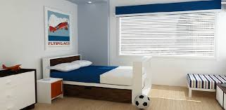 austin youth boy room modern-kids