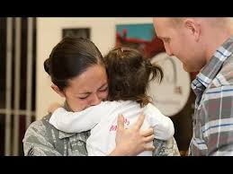 Image result for us military women coming home