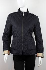 $595 BURBERRY BRIT EDGEFIELD WOMEN'S BLUE QUILTED JACKET SIZE L   eBay & Image is loading 595-BURBERRY-BRIT-EDGEFIELD-WOMEN-039-S-BLUE- Adamdwight.com