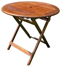 international caravan 32 round wood folding table transitional folding tables by unbeatable inc
