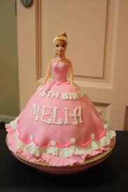 Super Delicious Birthday Cookies Pink Barbie Doll Cake Alin