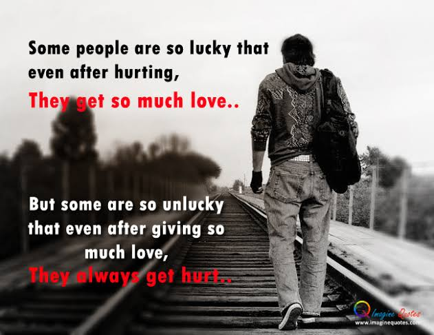 i am unlucky in love quotes