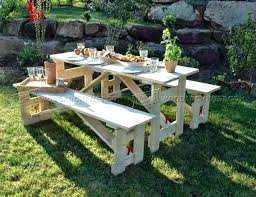 picnic table plans detached benches picnic table blueprints folding picnic table plans round picnic table plans