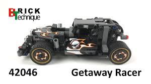 Pull Back Motor Design Lego Technic 42046 Getaway Racer With Pull Back Motor