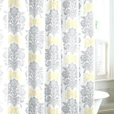 shower curtains yellow and gray sunny and bright grey and yellow shower curtain yellow grey and