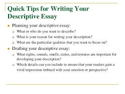 for writing a descriptive essay how to write a descriptive essay gram eck net