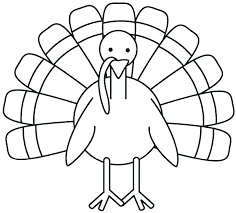 Free Printable Coloring Pages Thanksgiving Turkey Turkey Coloring ...