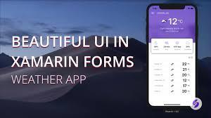Xamarin Forms Ui Design 02 Beautiful User Interface In Xamarin Forms Weather App