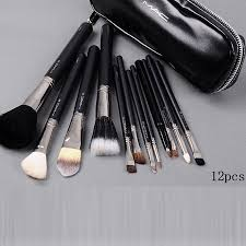 mac 12pcs brushes set with black pouch cosmeitcs 36 28 whole mac cosmetics mac cosmetics mac