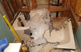 removing old cast iron bathtub ideas
