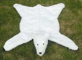 faux bear skin rug with head interior stylish faux polar bear rug inspiration with head home