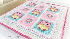 Owl Afghan Crochet Pattern Free Amazing Decoration