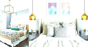 amazing copper pendant light bedroom image concept