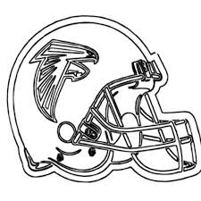 Small Picture Football Helmet for NFL Game Coloring Page Color Luna