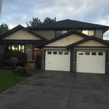 before the replacement of the new garage doors with satin etch glass the light that is gained from a garage door with windows is substantial