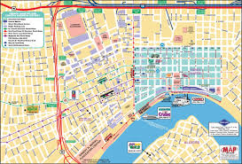 new orleans french quarter tourist map