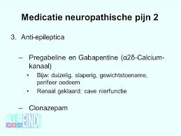 Medicatie, archives - neuropathische pijn