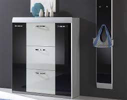 Orbit Modern Cabinet/Shoe Storage in Choice of Frame and Door Colour  thumbnail ...