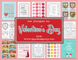In an effort to find adorable valentines that will make it look like you are a crafty goddess (because you are, right?) while putting in the minimal amount of time, i've pulled together more than 60 really cute free printable cards you can make yourself at home. Free Valentine S Day Printables Flanders Family Homelife