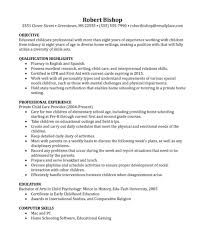 Child Care Provider Resume Shocking Childre Resume Samples Best Cover Letter Examples For 73